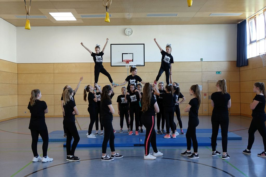 Cheerleading Gruppe 4